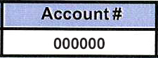 4. Account Number