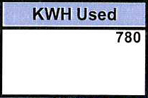 9. kWh Used